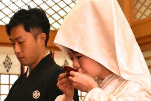 神前結婚式2